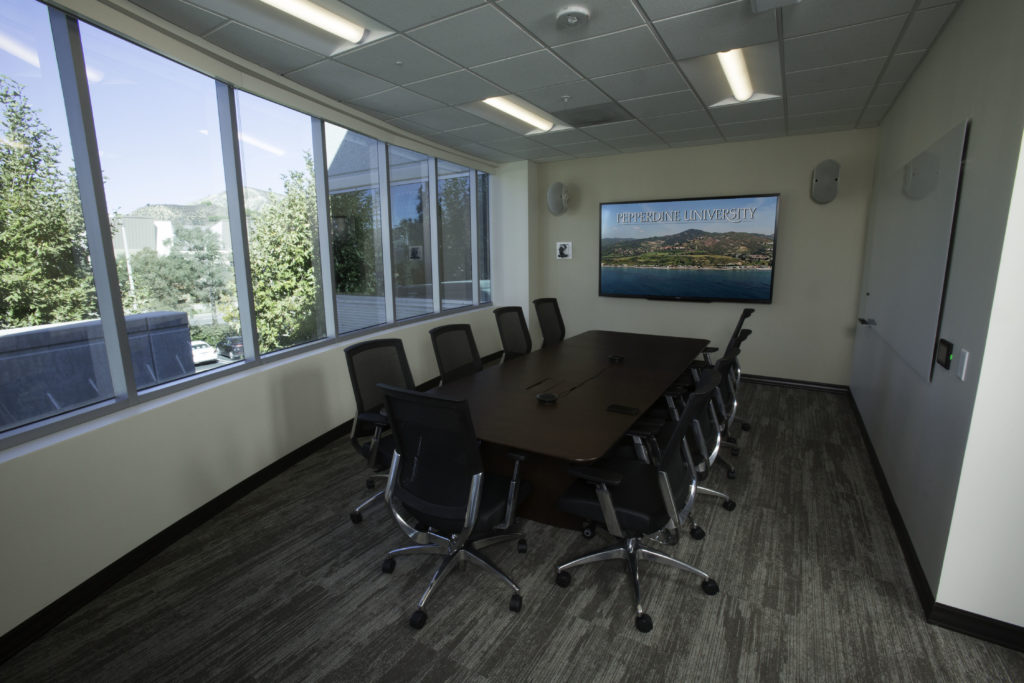 "Sharp 90"" displays provide great viewing quality in smaller meeting rooms."